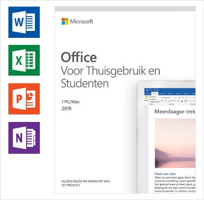 Image de Microsoft Office Home and Student 2019 NL