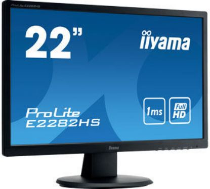"Image de IIYAMA 22""WIDE FHD TN VGA DVI-D HDMI 1ms Black"