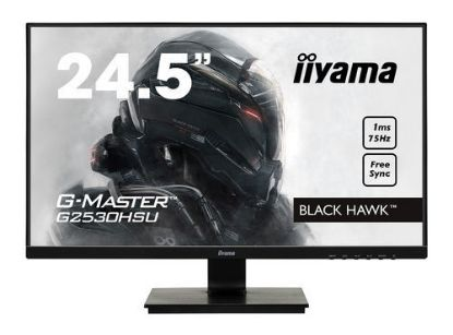 "Image de IIYAMA LED 24.5""FHD Gmaster Black Hawk VGA HDMI DP 1ms Black"