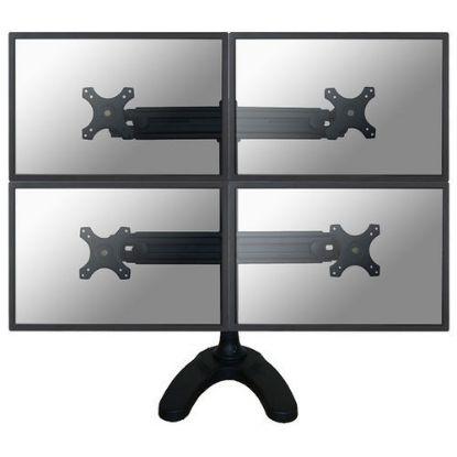 "Image de Newstar Desk Mount 4xScreen 10-30"" BLACK"