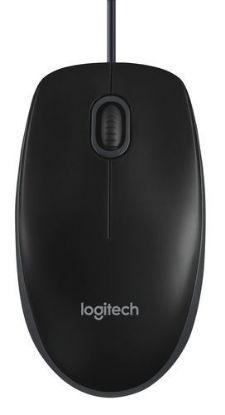 Image de LOGITECH B100 OPTICAL USB MOUSE BLACK