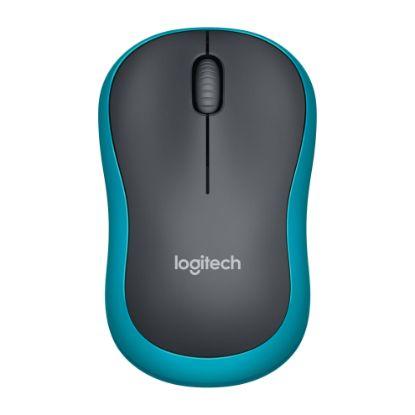 Image de Logitech Wireless Mouse M185 Blue EWR2
