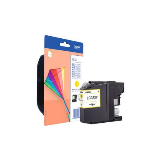 Image de Brother LC-223Y yellow inkt (600 pages)