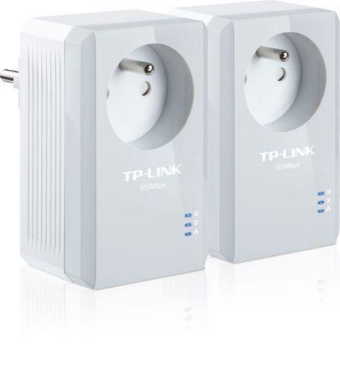 Image de TP-Link AV600 Powerline - 1 Fast port - 600Mbps
