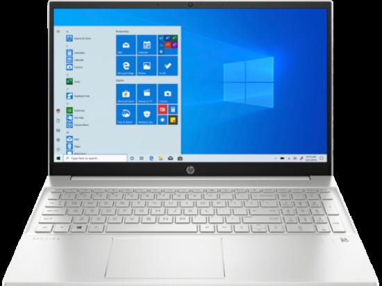 """Image de HP 15.6"""" FHD AG IPS Ryzen7-5700U 16GB 512SSD Silver W10"""
